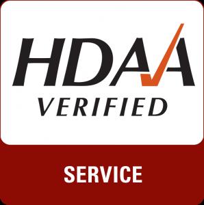 HDAA Verified Service Mark