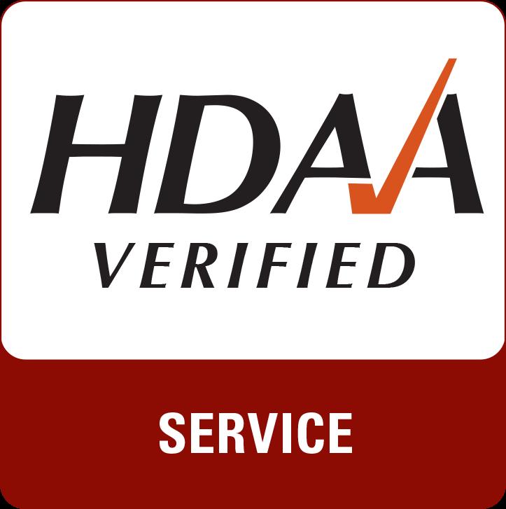 HDAA verified service logo