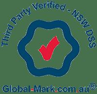 Third party verified logo