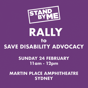 Stand By Me Rally poster