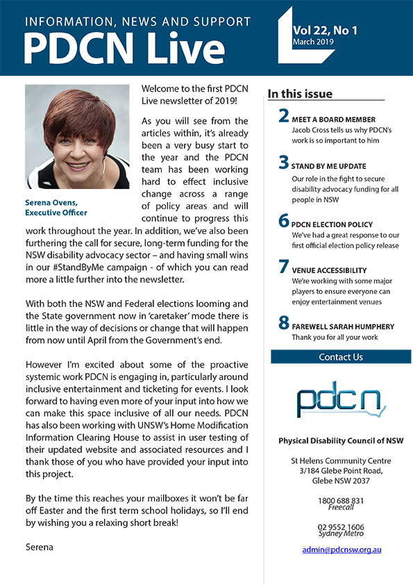 Click to read PDCN Live March 2019