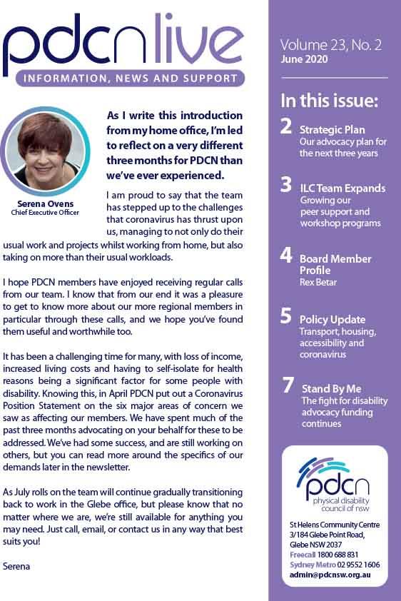 Link to PDCN Live - June 2020 PDF